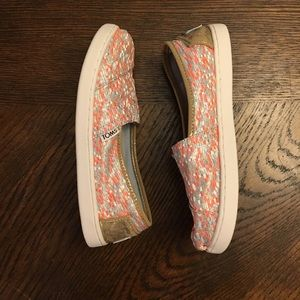 Toms Youth Slip On Shoes